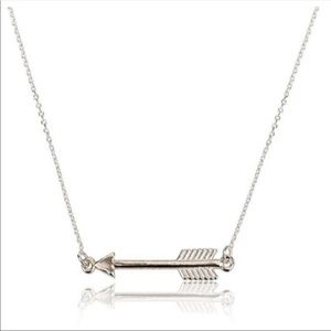 Silver Arrow Necklace